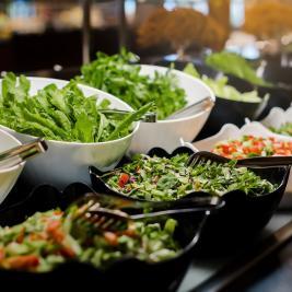 Cap de Creus restaurant salads in Roses