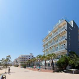 Façana Hotel Marítim Roses Costa Brava