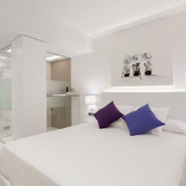 Habitació doble Hotel Marítim Roses Costa Brava