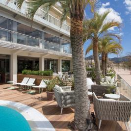 Hotel direkt am Meer an der Costa Brava